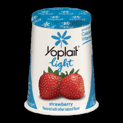 Йогурт клубника 170g