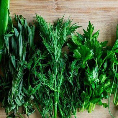 Набор пряно-вкусовой зелени 130г