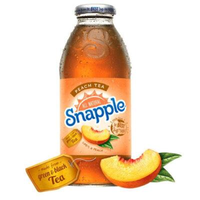 Холодный чай персиковый Snapple 0,33л